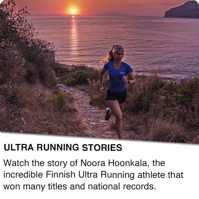 Noora Honkala and Ultra Running